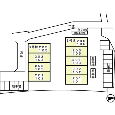 【区画図】グリーンハイツ増尾台 Ⅱ