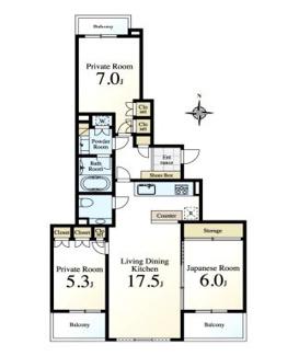 三井不動産旧分譲マンション2階、内装リフォーム済で安心です