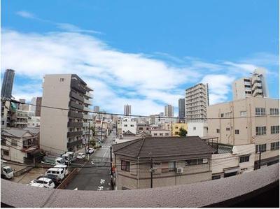 ◆バルコニーよりの眺望です。眺望良好!を大きな空を見渡せます!