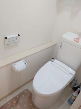 仲六郷ハウスのトイレです。