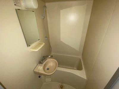 【浴室】レオパレスオリーブ