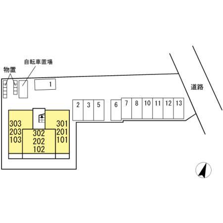 【周辺】(仮)D-roomOTT's三本松