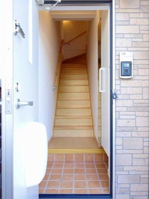 【玄関】リーフムーン