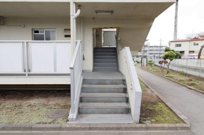 【エントランス】ビレッジハウス江戸川台4号棟