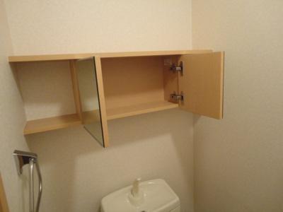 トイレ収納(オープン時)