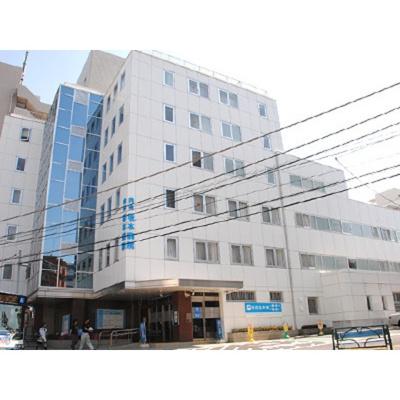 病院「五十鈴会内科坂本病院まで374m」五十鈴会内科坂本病院