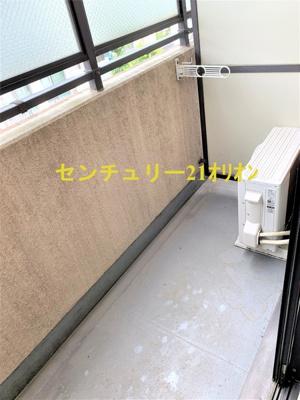 【バルコニー】ライオンズマンション中村橋第2
