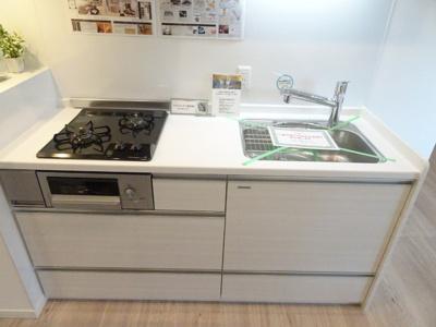 システムキッチンは新規交換しています♪