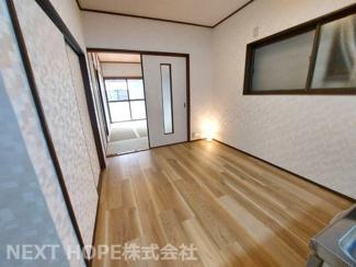 キッチンから和室です♪建具をオープンにしていただくと広い空間が生まれます(^^)