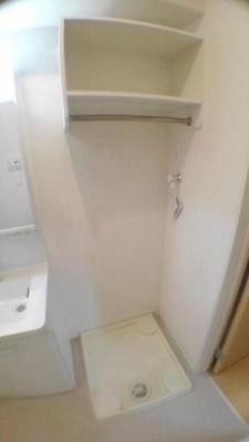 室内洗濯機置き場