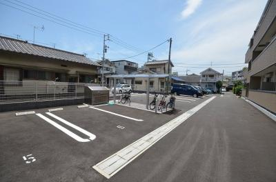 【駐車場】クレールA