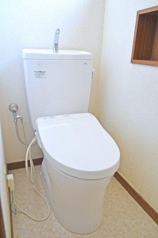 1Fのトイレです
