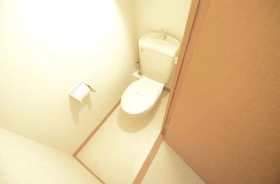 【トイレ】レオパレスカズⅠ