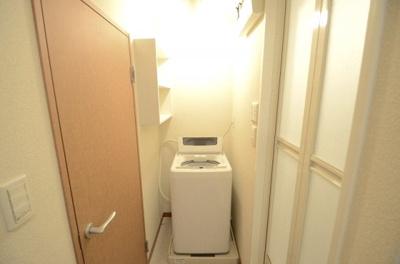 脱衣所・洗濯機