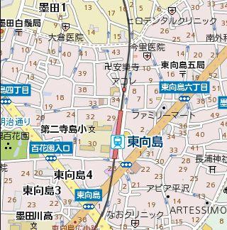 【地図】オデオン