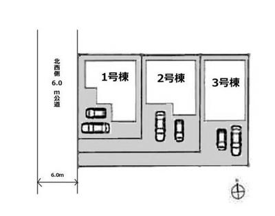 【区画図】坂戸市末広町新築戸建