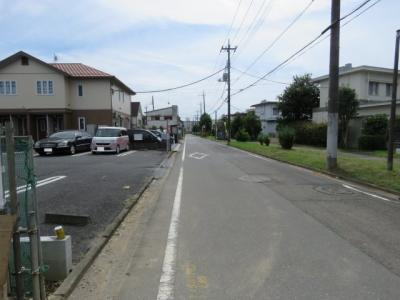 【前面道路含む現地写真】坂戸市末広町新築戸建