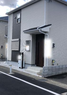 尼崎市田能3丁目第2 新築一戸建て 2021/8/22現地撮影
