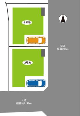尼崎市田能3丁目第2 新築一戸建て 。