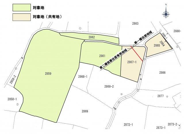 【土地図】京都郡苅田町大字提土地