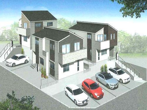 イメージパース 綾瀬市寺尾北3丁目 新築一戸建て 全3棟