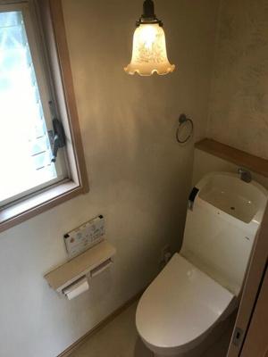【トイレ】八尾市楽音寺2丁目 中古戸建て
