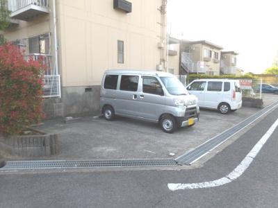 入りやすい駐車場
