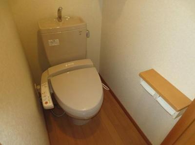 【トイレ】ルーブル上池台弐番館
