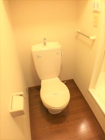 バストイレ別。同タイプ室内