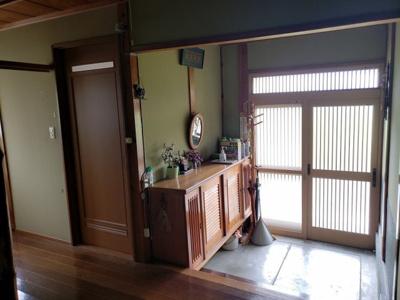 【庭】鳥取市国安中古住宅