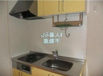 2口コンログリル付きのキッチンです*別室参考写真