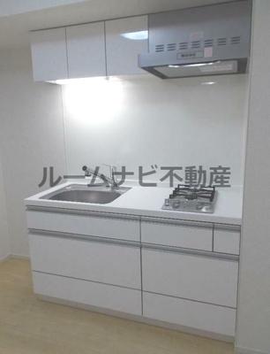 【キッチン】クラールメゾン・大島
