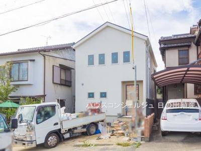 【外観】名古屋市天白区梅が丘3丁目202-1【仲介手数料無料】新築一戸建て