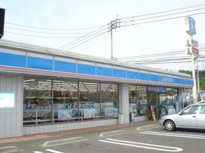 ローソン松山平田店(コンビニ)まで302m