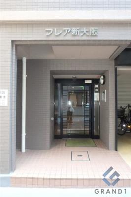 【エントランス】フレア新大阪