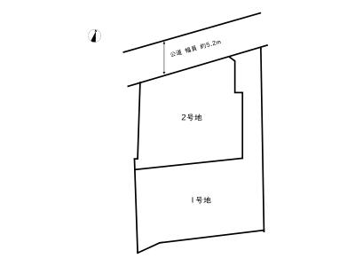 【区画図】相生市那波野1丁目/全2区画