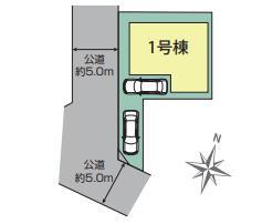 【区画図】清瀬市竹丘3丁目 全1棟