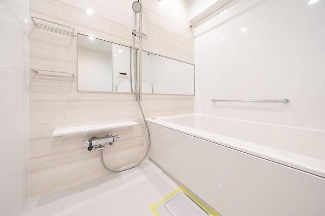 菊川グリーンハイツ:浴室乾燥機・追い焚き機能付き浴室です!