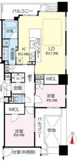 25階部分南東角部屋は、マンションの中でも限られた条件がそろっています。