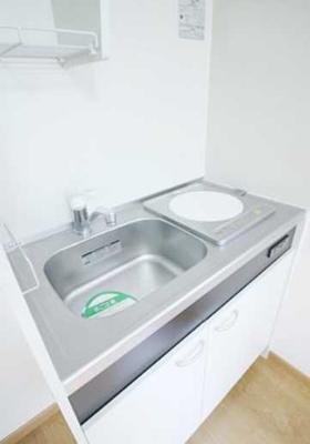 【キッチン】パークサイドハウス三軒茶屋 リフォーム済 バストイレ別 収納豊富