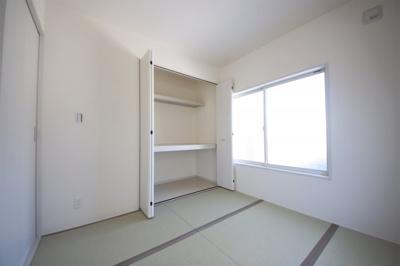 2号棟 和室があると、家にあたたかい雰囲気が生まれます