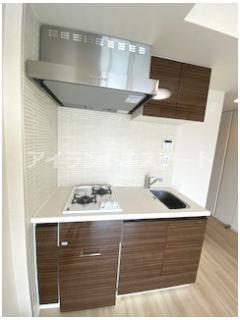 【キッチン】クレヴィアリグゼ三軒茶屋 駅近 独立洗面台 浴室乾燥機