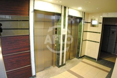 プレサンス天満ステーションフロント エレベーターは2基