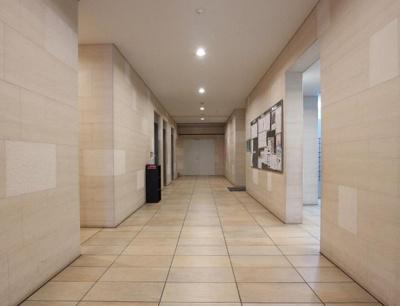 大森プロストシティレジデンスのエレベーターホールです。