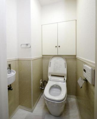 大森プロストシティレジデンスのトイレです。