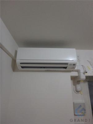 エアコンももちろんついてます♪