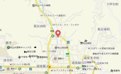 【地図】アビタシオン祝谷