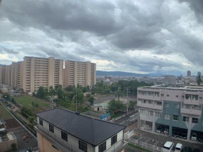 7階部分からの眺望です。