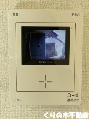 TVモニターフォン付き
