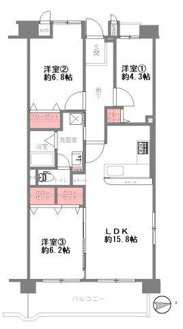 【間取り】南港はなのまち住宅 31号棟